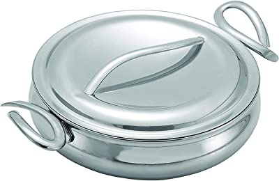 Nambe CookServ Saute Pan with Lid - Most Stylish Stainless Steel Saute Pan
