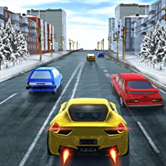 Easy controls Amazing Graphics Realistic handling Variety of cars to choose from Unique environments Exciting car racing game!