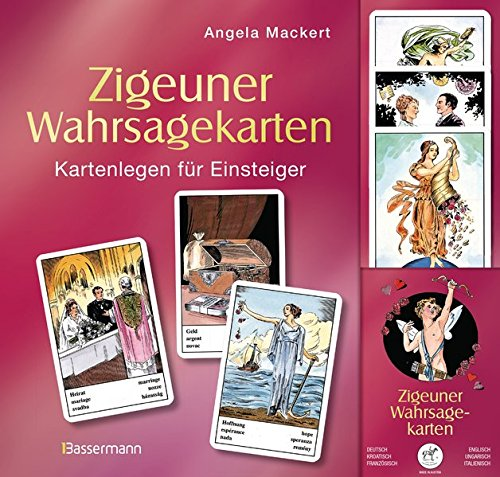 Zigeuner Wahrsagekarten-Set: Ein Kurs im Kartenlegen für Einsteiger. Set bestehend aus Buch und den original Wahrsagekarten von Piatnik