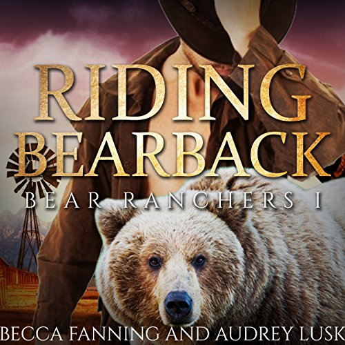 Riding Bearback audiobook cover art