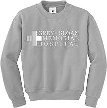 JOYU Grijze Sloan Memorial Hospital Leuke Sweatshirts Womens Crew Neck Pullover Tops