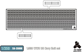 Tetramodelworks 1 / 350 SA series No. Second World War U.S. Navy handrail for accessory parts set SA3508