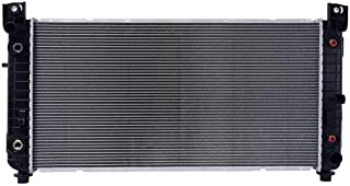 Prime Choice Auto Parts RK907 New Complete Aluminum Radiator
