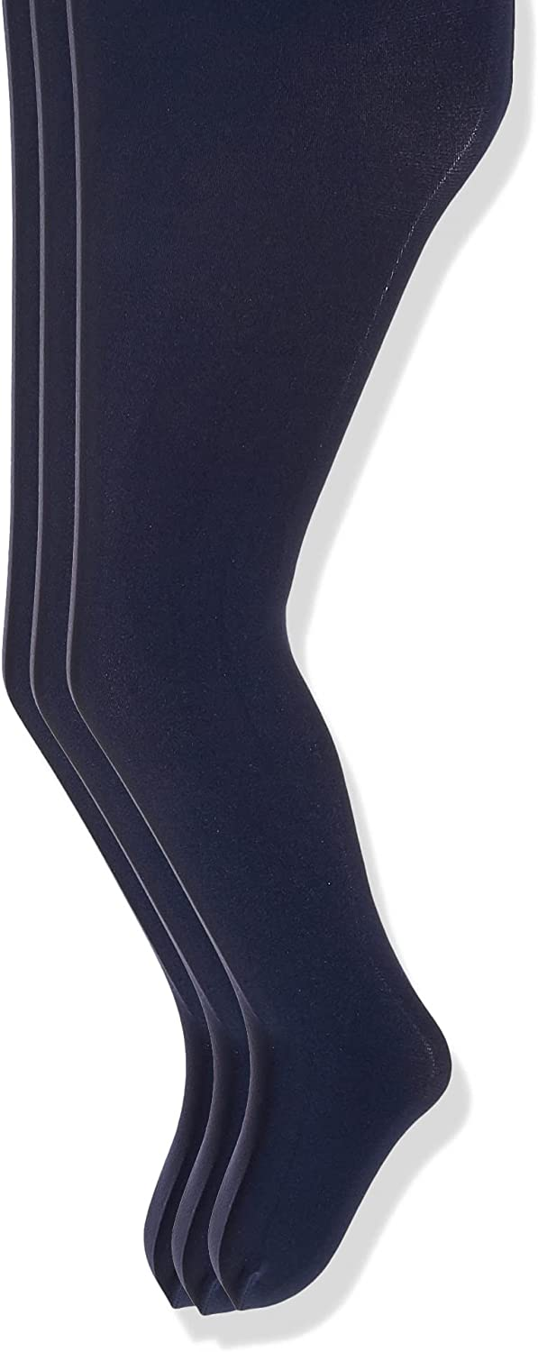 Jefferies Socks Girls' Spring new Max 58% OFF work Smooth Pack Tights of 3