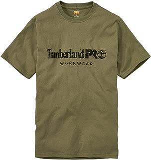 Timberland PRO Men's A1HOQ Cotton Core Short-Sleeve T-Shirt