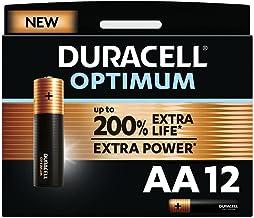 Duracell NEW Optimum AA Alkaline Batteries [Pack of 12] 1.5 V LR6 MX1500