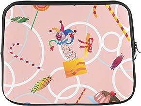 Design Custom Clown Spanish Culture Mexican Festival Skull Art Design Retro Flower Sleeve Soft Laptop Case Bag Pouch Skin for MacBook Air 11