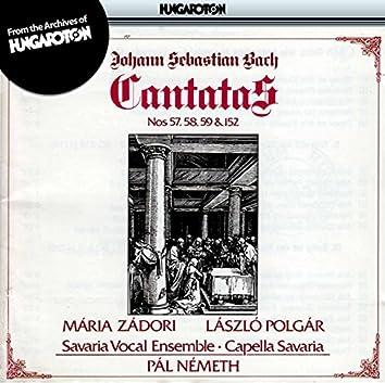 Bach: Cantatas Nos. 57, 58, 59 and 152