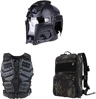 Traje Multifuncional táctico Especial Militar al Aire Libre, Que Incluye Chaleco, Casco, Mochila, Equipo Especial para Hombres de Entrenamiento de Combate, CS en Vivo