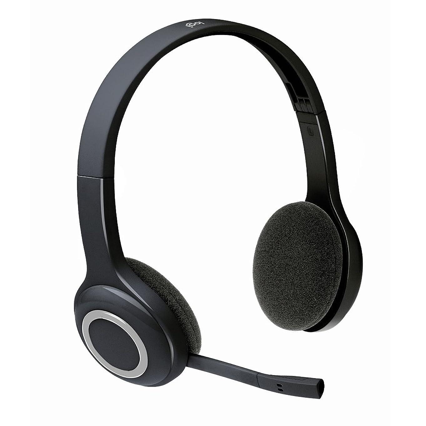 スパン四ビジターロジクール ワイヤレスヘッドセット H600r