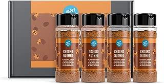 Marca Amazon - Happy Belly - Nuez moscada molida, 4x40g