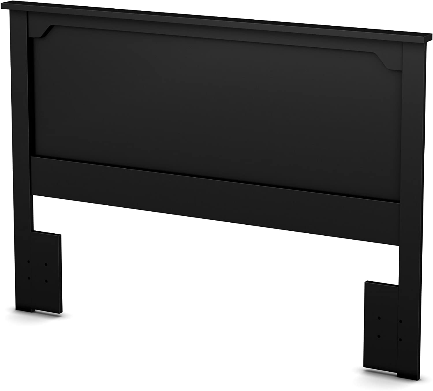 South Shore Furniture 54 60-Feet ' Fusion Headboard, Full Queen, Pure Black