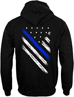 thin blue line hoodies
