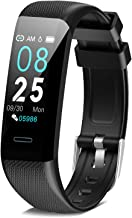 DoSmarter Fitness Tracker, Health Watch with All-Day Heart Rate Blood Pressure Monitoring,Waterproof Activity Tracker with...