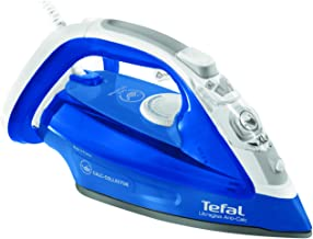 TEFAL Ultrgliss 4 Steam Iron, 270 ml, 2500 Watts, Blue / White, Durilium, FV4964M0