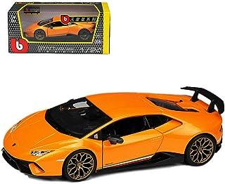 Bburago 1:24 Lamborghini Huracan PERFORMANTE Racing Car Vehicle Replica Diecast Model