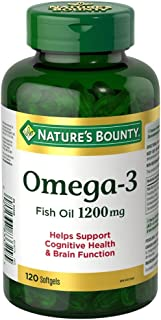 Nature's Bounty Omega Extra 1200mg 120 count