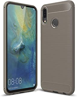جراب Galaxy M20، غطاء هاتف واقٍ للجسم بالكامل من PUSHIMEI ناعم من البولي يوريثين الحراري مضاد للبصمات لهاتف Samsung Galaxy M20