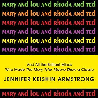 Mary and Lou and Rhoda and Ted audiobook cover art