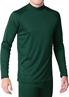 product image for WSI Microtech Form Fit Long Sleeve Shirt, Forest Green, Youth Medium