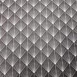 Werthers Stoffe Stoff Meterware Baumwolle beschichtet grau