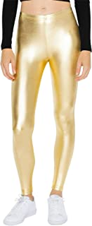 American Apparel Women's Metallic Legging