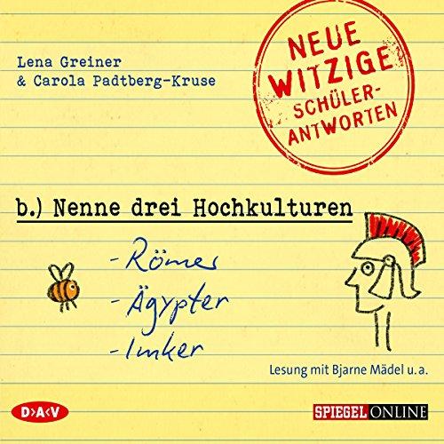 Nenne drei Hochkulturen: Römer, Ägypter, Imker audiobook cover art