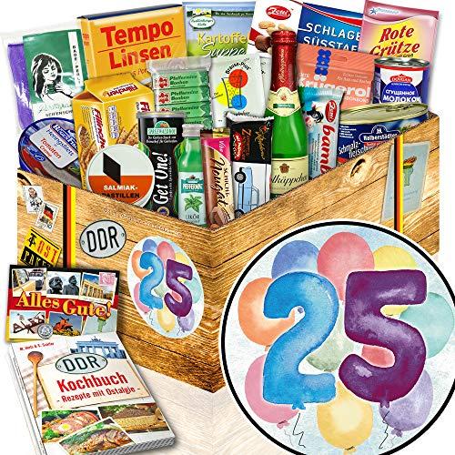 25ter Geburtstag Geschenke + Geschenke zum 25 Geburtstag Freund + Ossi-Box