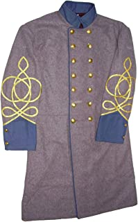 confederate double breasted frock coat