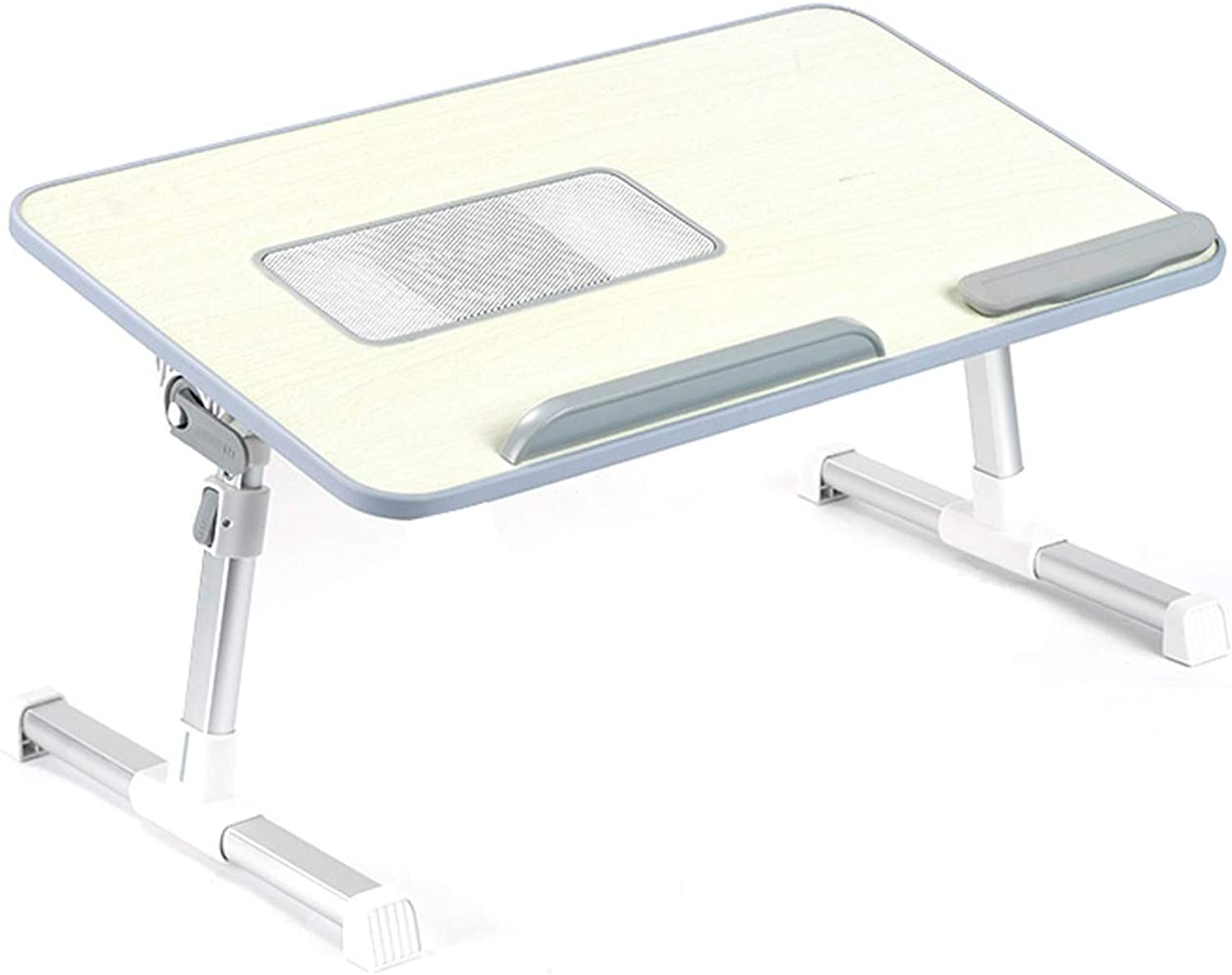Multi-Function Folding Computer Desk Bed Small Desk Writing Desk Lazy Table Folding Table, Multi-Size Optional (Size   A)