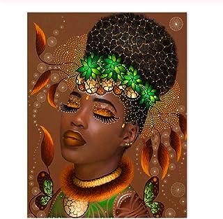1000ピース目を閉じてセクシーなアフリカの美しさ子供のためのジグソーパズルジグソーパズル大規模なパズルゲーム
