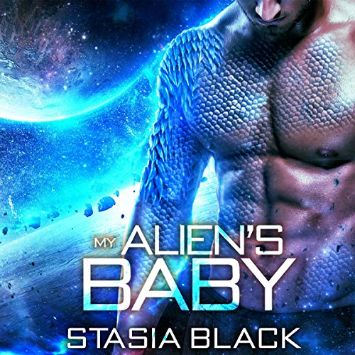 My Alien's Baby audiobook cover art
