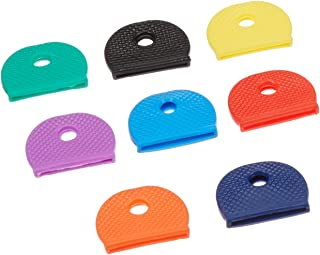 Lucky Line Medium Key Identifier Caps, Standard Size, Assorted Colors, 200 Pack (16500)