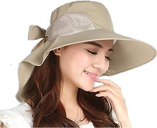 Sombrero de playa para mujer, visera de sol, sombrero de ganchillo de verano, sombrero de ala ancha para el sol, gorras de viaje