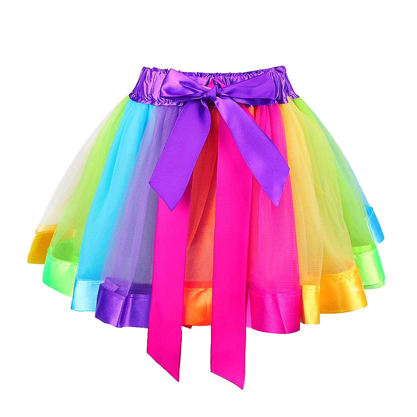 TFJH E Kids Baby Girls Fish Scale Stretch Ballet Dance Tutu Skirt Shorts Gymnastics Activewear 2-11Y