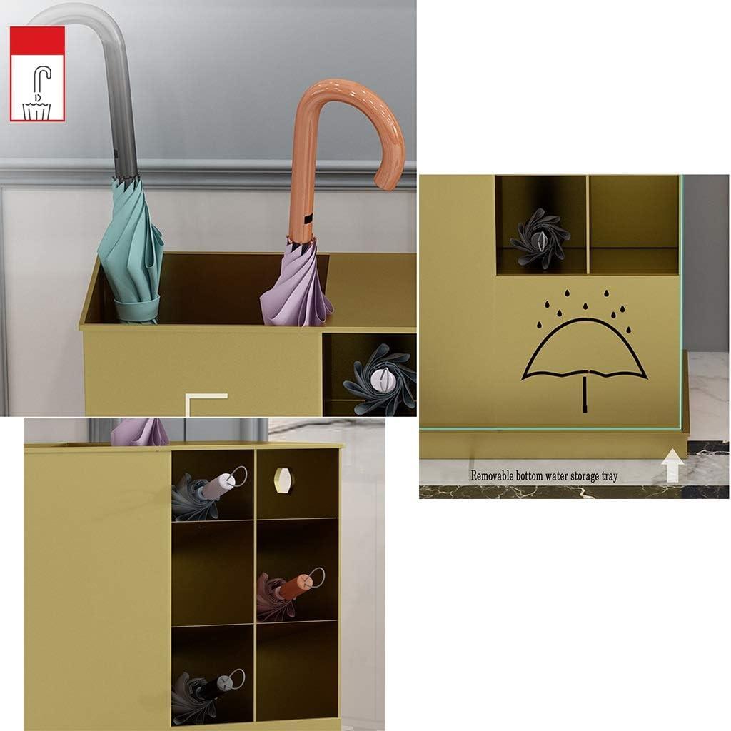 gro/ßes Fassungsverm/ögen gold Schirmst/änder aus Metall mit Ablage GWDJ Schirmst/änder