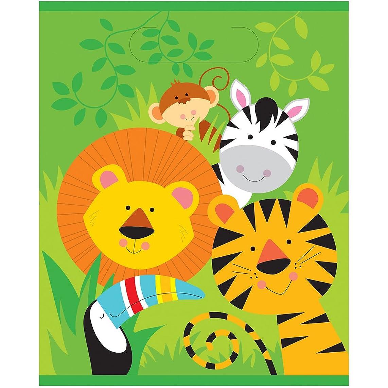 Animal Safari Goodie Bags, 8ct