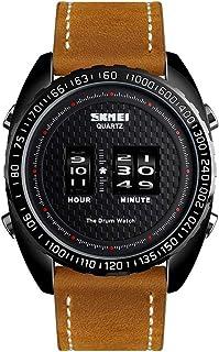 1516 ساعات رياضية للرجال مقاومة للماء ساعة معصم في الهواء الطلق للرجال كوارتز الذكور ساعة عسكرية