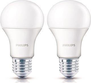 Philips Base E27 14-Watt LED Bulb (Pack of 2, Crystal White)
