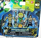 Ben 10 Alien Creation Chamber Mini Figure 2-Pack Benvicktor and Benmummy