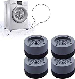 Tampons À Pied Machine À Laver 4 Pièces,tampons de pieds en caoutchouc anti-vibrations,Amortisseurs de vibrations en caout...