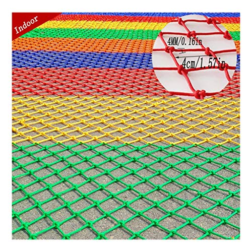 Garde-corps for Enfants Couleur Filet for Animaux De Compagnie/Jouets Tissu Filet De Sécurité Balcon Filet De Sécurité Escalier Filet De Nylon Élastique Intérieur Aire De Jeu Filet De Protection