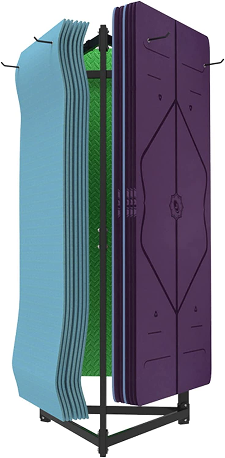Extra Large Yoga New Shipping Free Mat Storage Cash special price and Rack Holds W Holder 60 Display