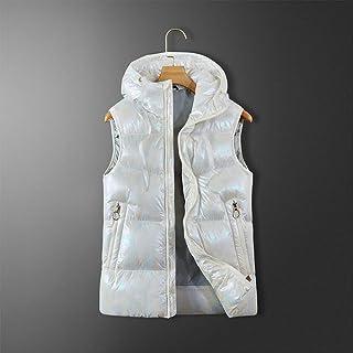Gilet Elettrico riscaldato da Donna con Ricarica USB Caldo Gilet con Temperatura Regolabile per Scaldamuscoli in Inverno e Campeggio allaperto Slimerence