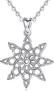 Sterling Silver Star Flower of Life Infinity Spiritual...