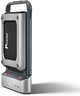 Powermax Fitness JOGPAD-5 (5 HP Peak) 2 in 1 Foldable Treadmill for Home Cum Under Desk Walking Pad (Pre-Installed) - Slim...