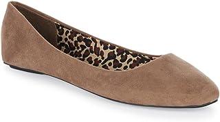 Charles Albert Women's Comfortable Light Shoe Flats Basic Closed Round Toe Ballet Flats Slip On Shoe