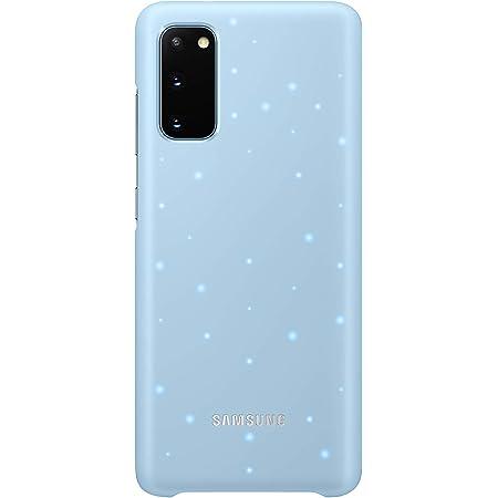 Samsung Led Smartphone Cover Ef Kg980 Für Galaxy S20 S20 5g Handy Hülle Led Benachrichtigungen Lichteffekte Schutz Case Blau Elektronik