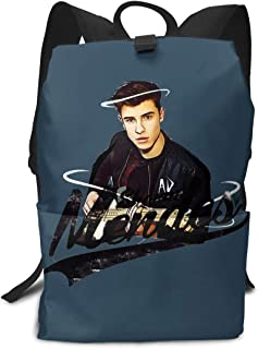 REYUTEEG Adult Backpack Sheaawn Mendas Full Printed School Computer Bag Large Capacity Backpack for Students College Trave