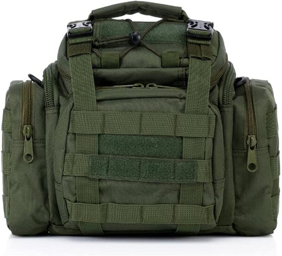 Military Tactical Assault Pack Shoulder Bag Army Molle Waterproof Bug Out Bag Small Rucksack
